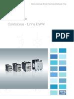 WEG Contatores Linha Cwm 50051271 Catalogo Portugues Br