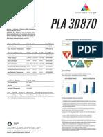 Ficha Técnica PLA 3D870