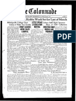 The Colonnade - March 2, 1936