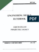 AMCP 706-165 Liquid Filled Projectile Design
