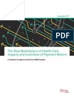 The New Marketplace of Health Care - Impacts and Incentives of Payment Reform