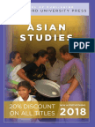 Asian Studies 2018 Catalog
