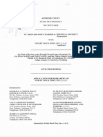 Application for Rehearing of Violet Dock Port, Inc., LLC, St. Bernard Port, Harbor & Terminal District v. Violet Dock Port, Inc., No. 2017-C-0434 (Feb. 14, 2018)