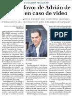 21-02-18 Fallan a favor de Adrián de  la Garza en caso de video