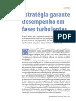 Estrategia Garante Desempenho Em Fases Turbulentas