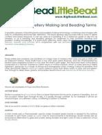 BBLB Beading Glossary a to Z