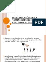 Exp. 1 Introduccion de La Administracion de Los Recursos Humanos