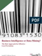 IntelliQ WP BI or Data Mining