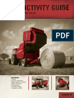 Round Baler Productivity Guide PM 13750