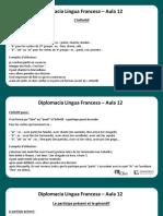 Língua Francesa - Aula 12