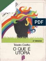 JTeixeiraCoelhoN_O Que é Utopia_1981 [1980]