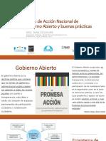 Modulo 1 - Planes de Acción Nacional de Gobierno Abierto y Buenas practicas  - certificacion