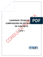 Sinapi Cp Lote1 Estaca Broca Manual