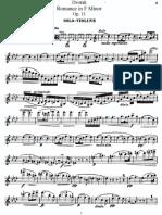 Dvorak Romance Op 11 Violin