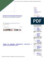 Áreas de Regiones Sombreadas Conceptos y Ejercicios Desarrollados _ Matematicas Problemas Resueltos
