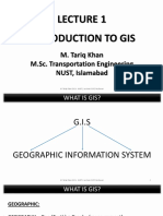 1. Introduction to GIS