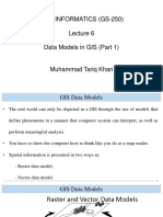 6. Data Models in GIS (Part 1)