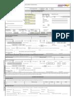 Solicitud de Afiliación o Actualizacion de Datos Comercio Pn