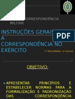 UD III - Correspondência Militar