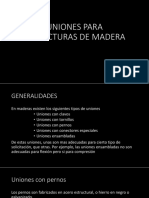 Tema 6 Uniones de Madera -1