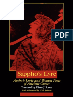 Sapho's Poems