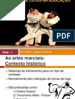 Aula1 Ensino de lutas Historico