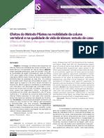 Pilates Mobilidade Coluna Vertebral