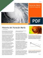 Huracán Maria [Informe Especial] Primera Edición