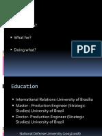 Presentation - IFSH
