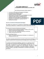 Guia de Planeamiento Institucional Nota de Cambios en La Guia 24nov2017