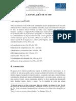 Acumulación de Autos. Prof. Fernando Hood.
