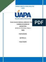 Derecho Procesal Penal II Tarea 3