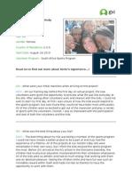GVI Case Studies - Kerin Eaton