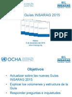 Guias INSARAG 2015 Para Webex