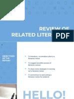 Literature Review (Presentation)