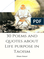 30 Poems About Life Purpose in Taoism