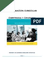 3años Programacion Curricular Competencias Capacidades