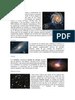 Universo y Sus Componentes