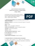 Presentación Cátedra Social Solidaria