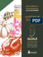 Cocina de El Quijote en Alcalá