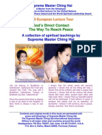 E-Book of Supreme Master Ching Hai's God's Direct Contact - The Way to Reach Peace