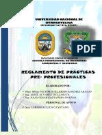 Reglamento de practicas