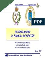 Interpolacion de Newton.pdf