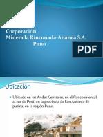 Corporacion Minera Ananea 1