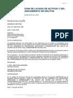 Ley Organica de Prevención Deteccion y Erradicación Del Delito de Lavado de Activos y Del Financiamiento de Delitos Ene 2