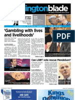 washblade.com - vol.41, issue 36 - September 3, 2010