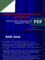 Proceso Administrativo Disciplinario docentes - Exposición