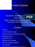 Information Systems Presentation Final