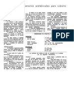 Normatividad de Elementos Prefabricados Para Cubierta