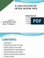 Rotor Hub Analysis